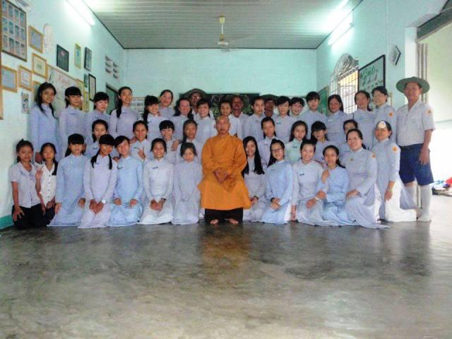 Ngành nữ GĐPT Kỳ Viên sinh hoạt ngày Hạnh