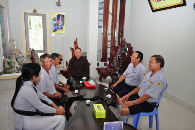 Phái đoàn BHD.GĐPT Cam Ranh thăm đơn vị Từ Hiệp