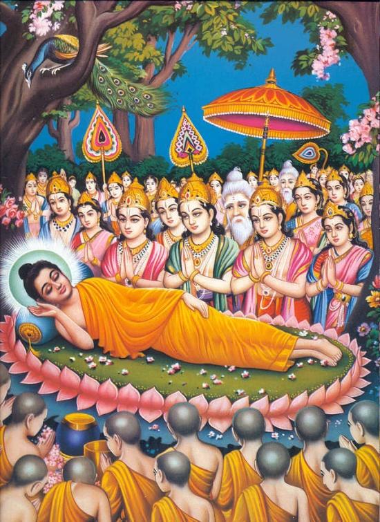 Vía đức Phật Thích Ca nhập diệt 15.2 âm lịch – PL.2559