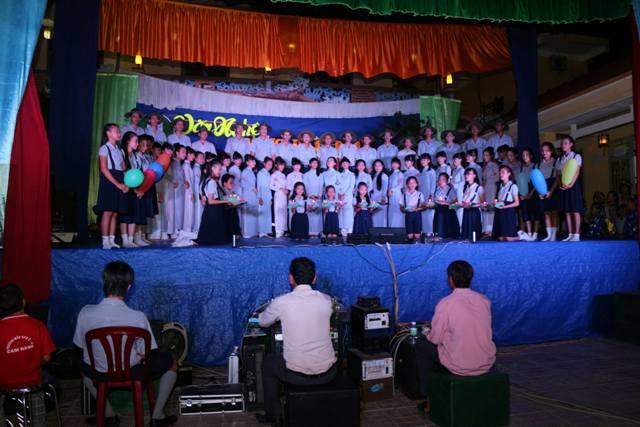 Văn nghệ mừng Phật đản PL.2559 – GĐPT Thanh Sơn