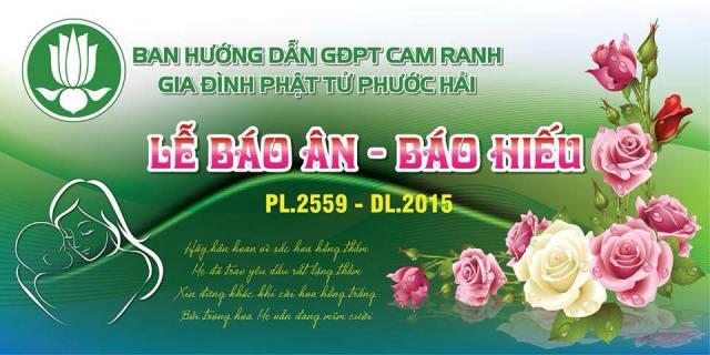 Lễ Báo Ân – Báo Hiếu của GĐPT Phước Hải