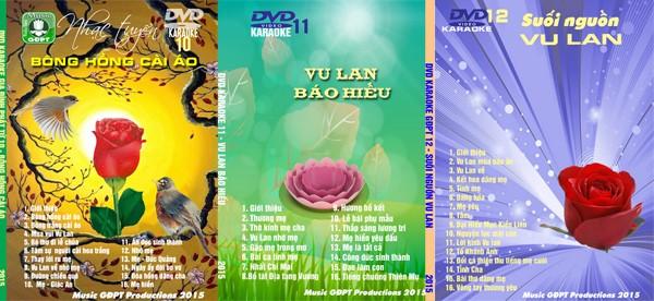 Nhạc Vu Lan: 45 bài hát Karaoke