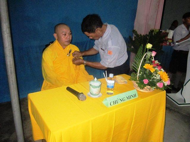 Hình ảnh Lễ báo ân của GĐPT Từ Lâm