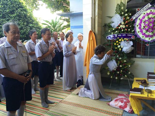 Lễ phúng viếng, kỳ siêu mẫu thân HTr Quảng Tu Huỳnh Văn Tiến