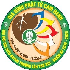 Đại hội đại biểu Huynh trưởng GĐPT Cam Ranh lần thứ VIII, nhiệm kỳ 2016 – 2020.