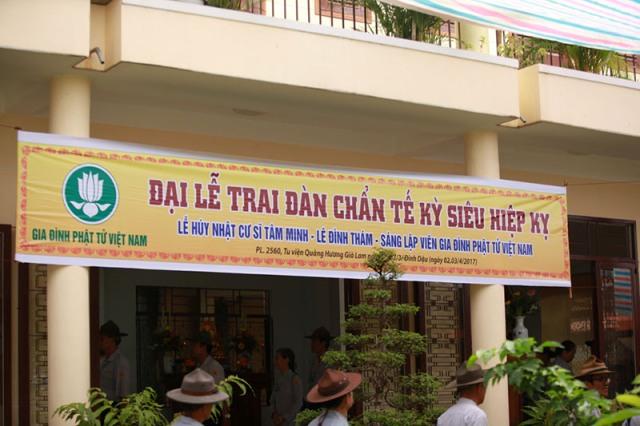 Đại lễ Trai đàn chẩn tế – Hiệp kỵ GĐPT Việt Nam năm 2017