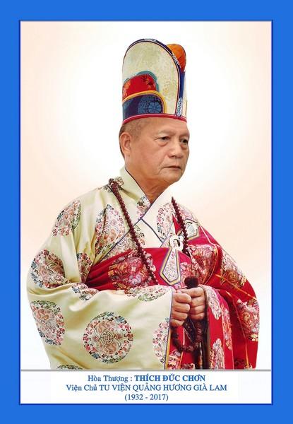Tưởng niệm cố HT Thượng thủ Hội đồng Tăng Già Bản Thệ