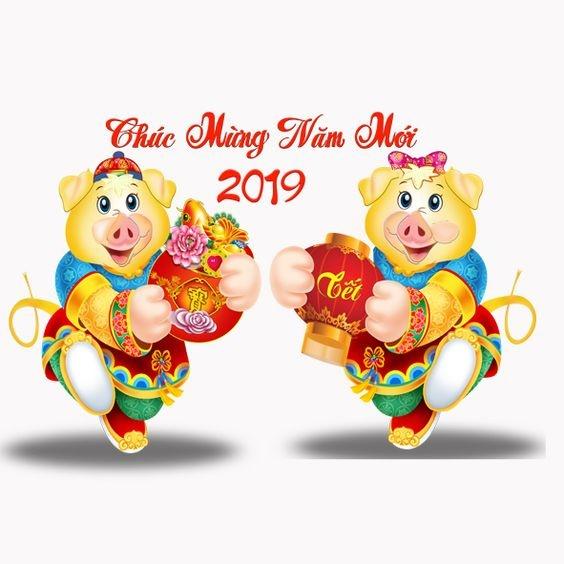Chúc mừng năm Dương lịch 2019
