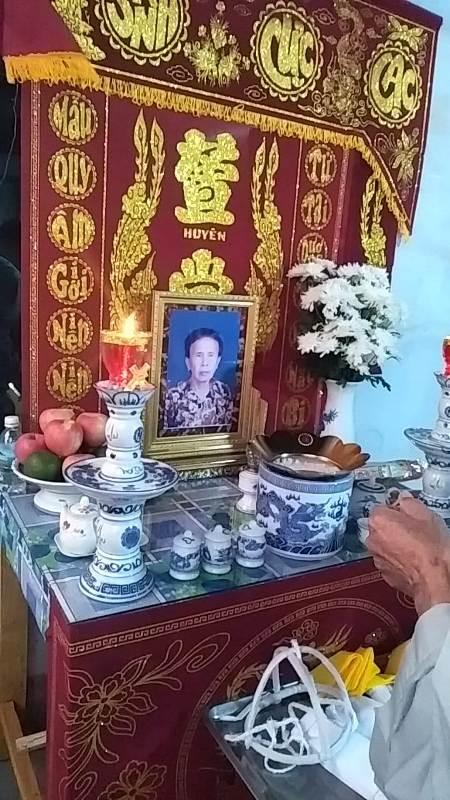 Phân ưu: Mẫu thân của HTr Quảng Đạo Nguyễn Văn Nức