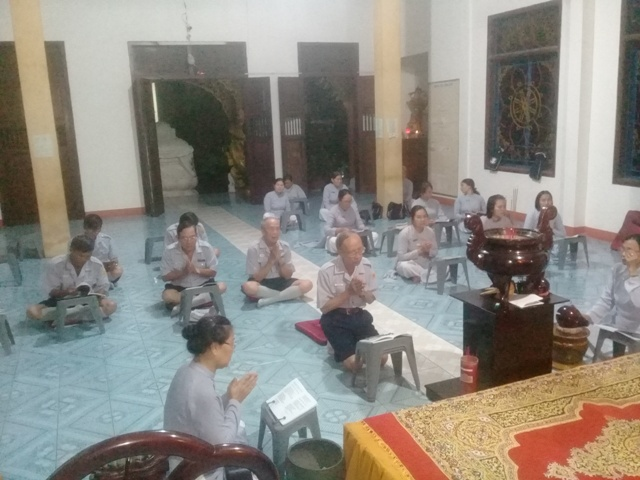GĐPT Phước Khánh kỳ nguyện an lành cho đồng bào miền Trung bị bão lũ